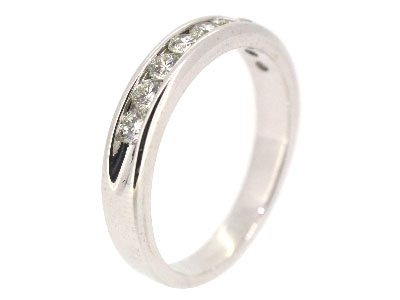 Wedding Band in 14K WHITE GOLD - 2393JNRB